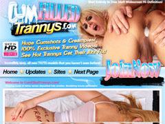 Cum Filed Trannys - At Cum Filled Trannys, we always fill the tank to the top with creamy vanilla!