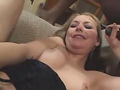 Funny tranny jumping on black cock