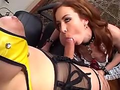 Fetish shemales mistress fucks girl
