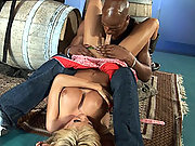 Irresistible Kimber James Having Her First Interracial